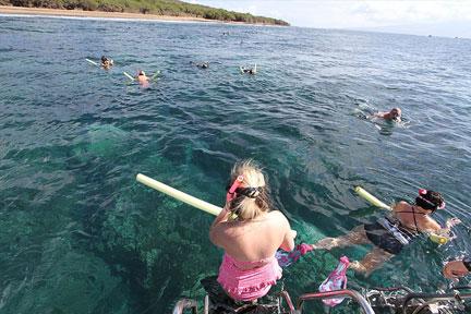 Maui Coastline Snorkel and Raft Adventure